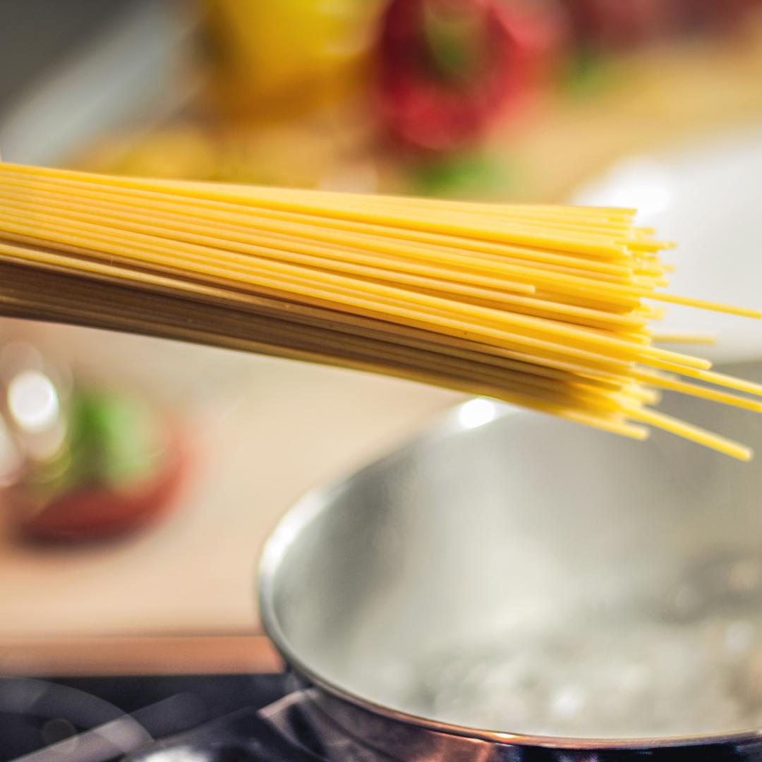 pasta cooking